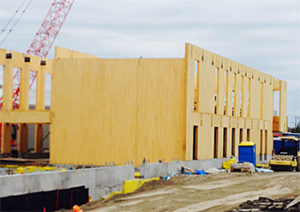 CLT panels in the new Laurentian University School of Architecture
